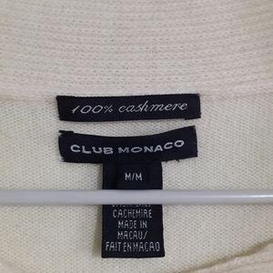 Club Monaco 💯%LUXURY CASHMERE SWEATER